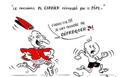 Le cardinal Mc Carrick défroqué par le pape…