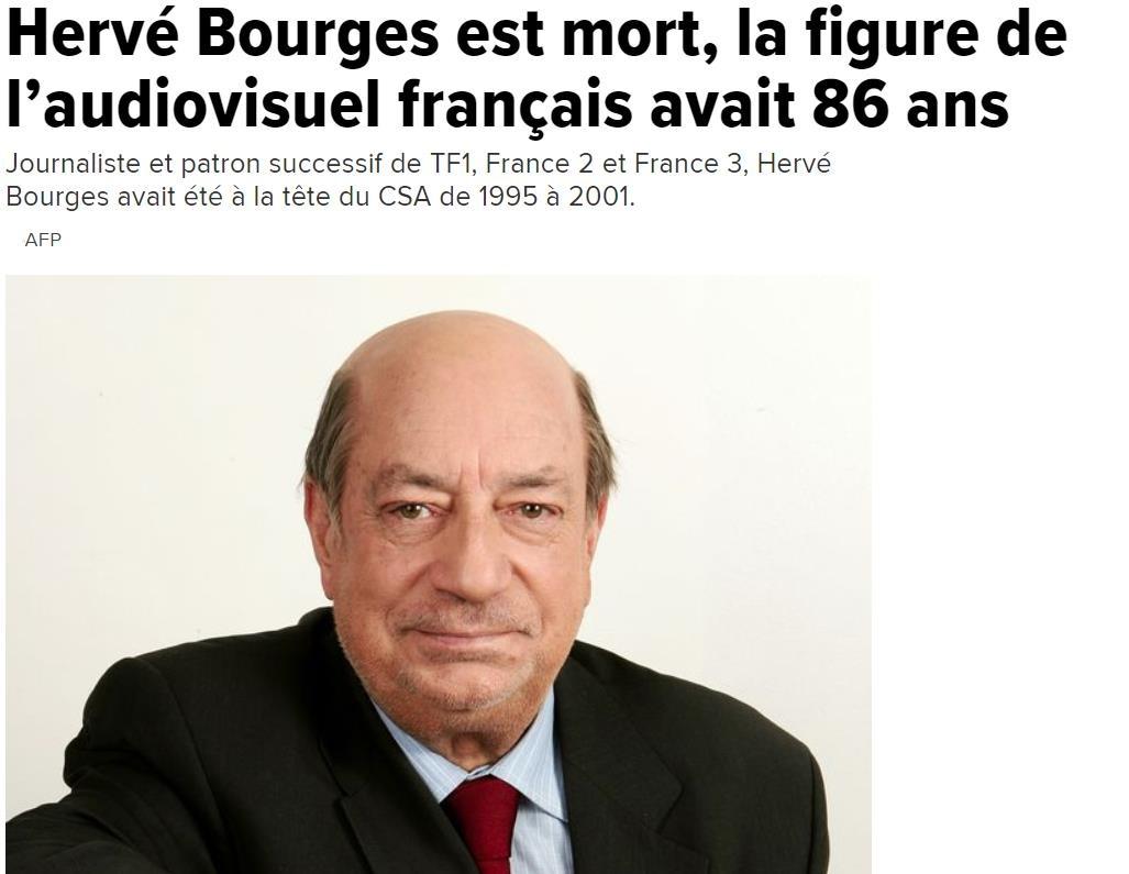 Hervé Bourges, la figure de l'audiovisuel