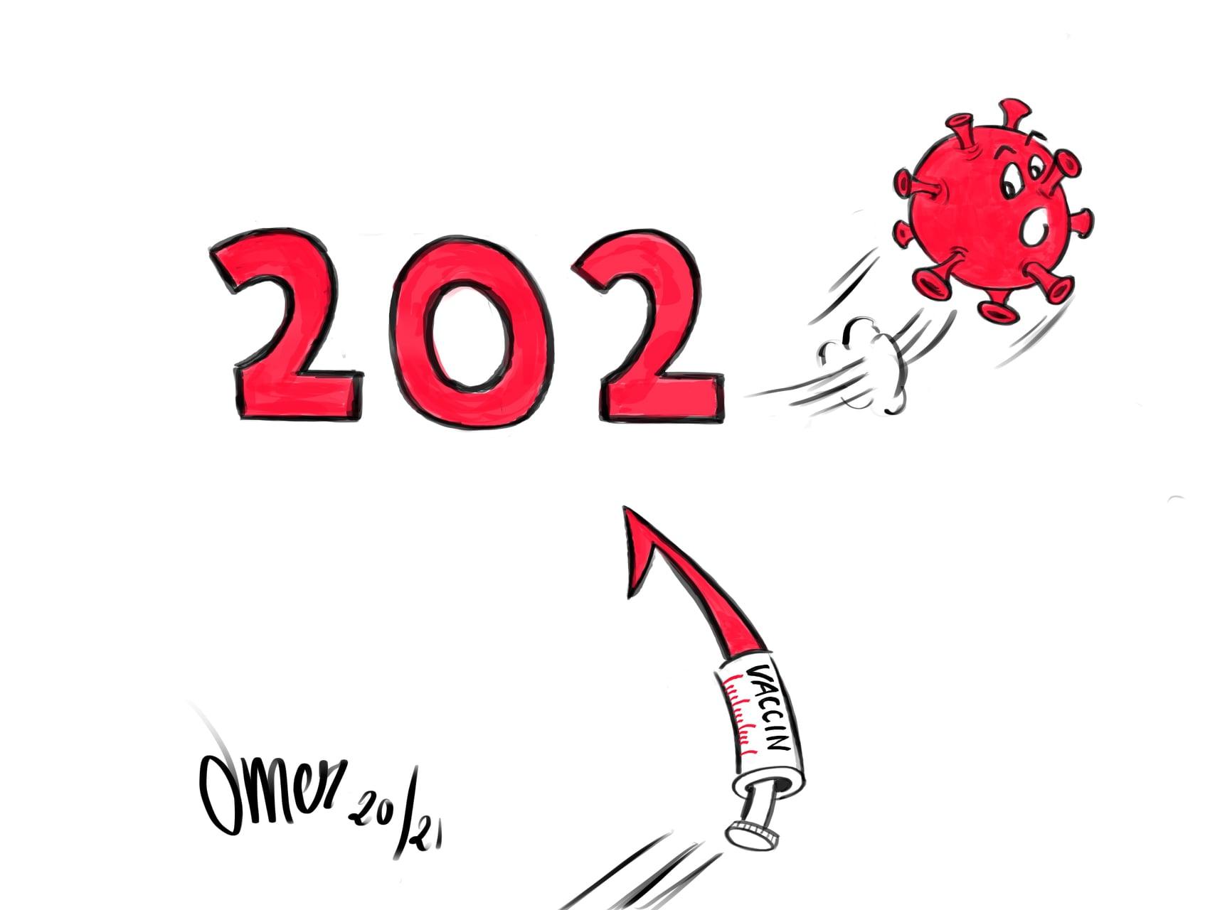 MEILLEURS VOEUX pour l'année 2021